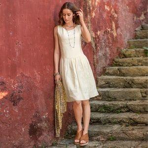 Sundance linen dress. Never worn. Size 4.